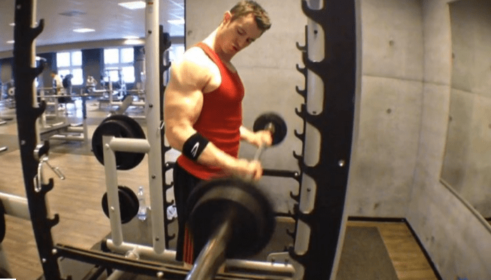 Power Rack Curls